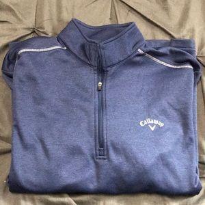 Callaway quarter zip sweater